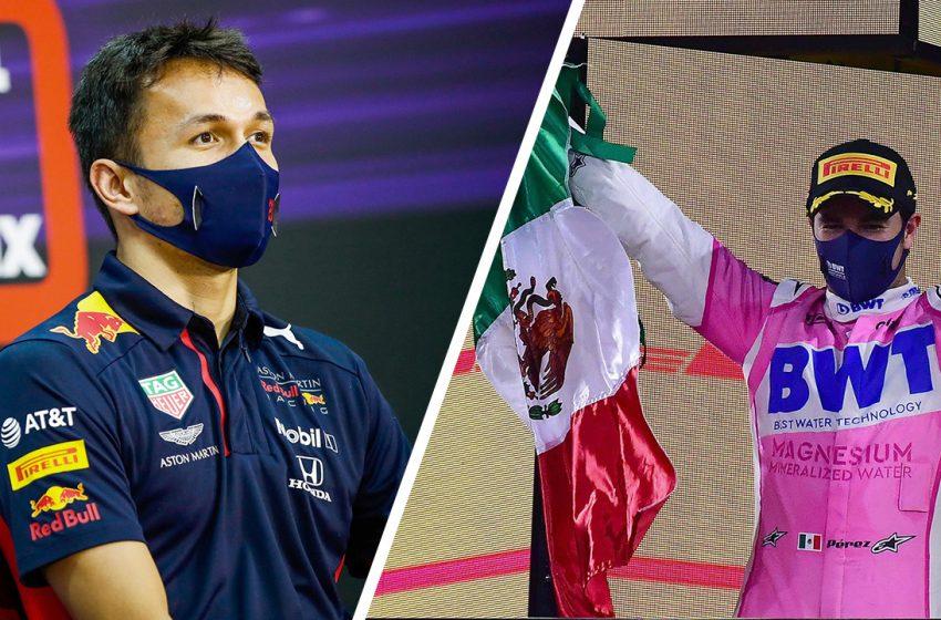 อัลบอน สะดุ้ง เปเรซ ลุ้นขับให้เรดบูลล์ หลังได้แชมป์ F1 เรซแรกในชีวิต