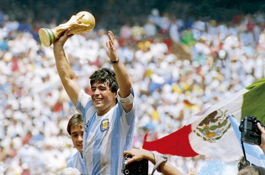 ประวัติ Diego Armando Maradona