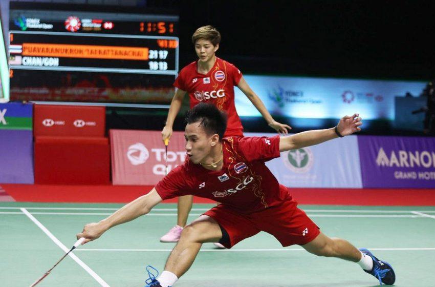 บาส-ปอป้อ พลิกแซงชนะ แช ยูจุง-โซว ซองแจ 2-1 ลิ่วชิงขนไก่ โยเน็กซ์ฯ