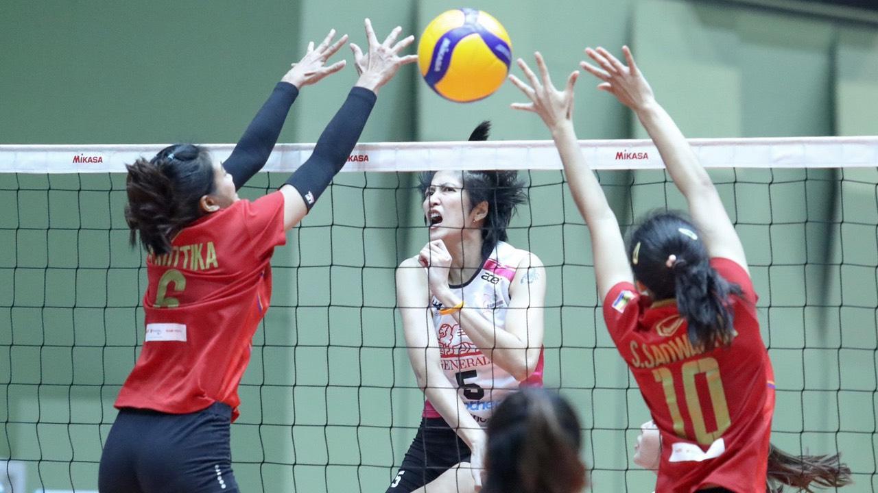 ส.วอลเล่ย์บอลเลื่อนแข่งตบไทยลีกแบบไม่มีกำหนด