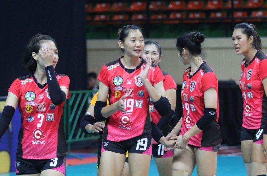 ชัชชุอร โชว์ฟอร์มหรูพา โคราช ตบชนะ นครนนท์ 3-2 เซต ศึกไทยแลนด์ลีก
