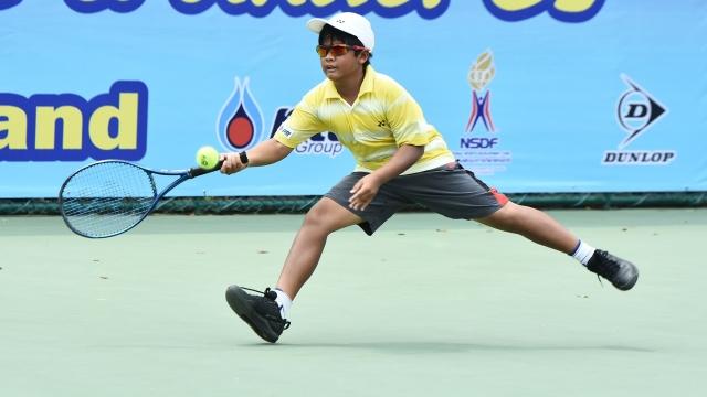 ธีรภัทร-ณัฐรดา ประเดิมชัยเทนนิสเก็บแต้มเอเชียวันแรก