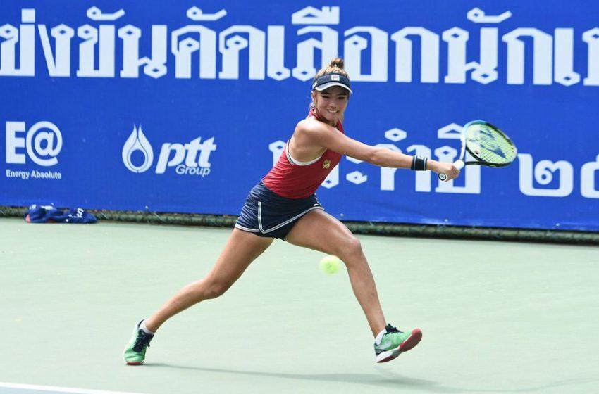 ชมภู่ทิพย์ จันดาเขตดวลพิมพ์รดาเปิดเวทีคัดเทนนิสทีมชาติไทย