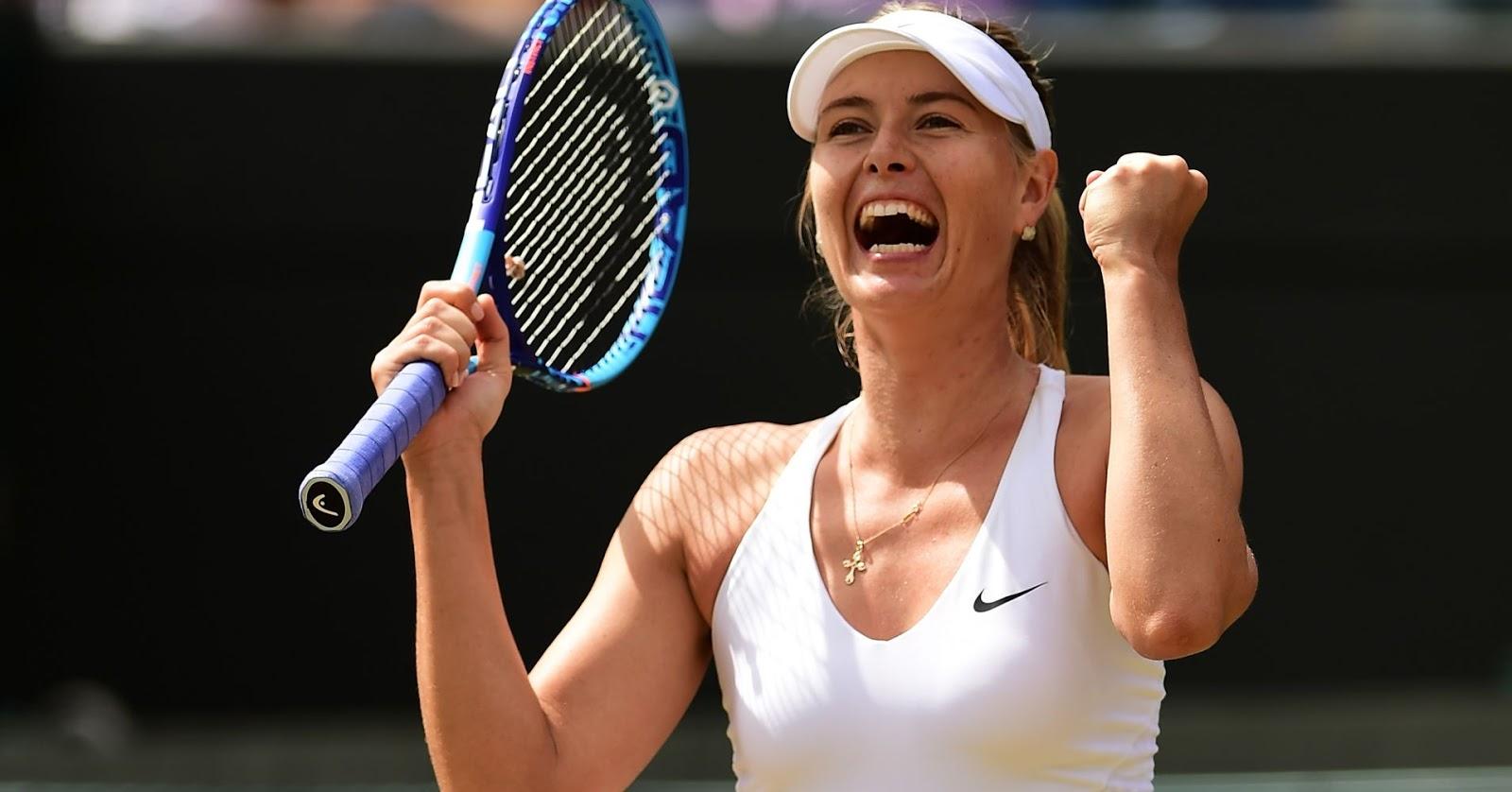 Maria Sharapova มาเรีย ชาราโปวา 9sports sexy girl นักกีฬาสาวสวย