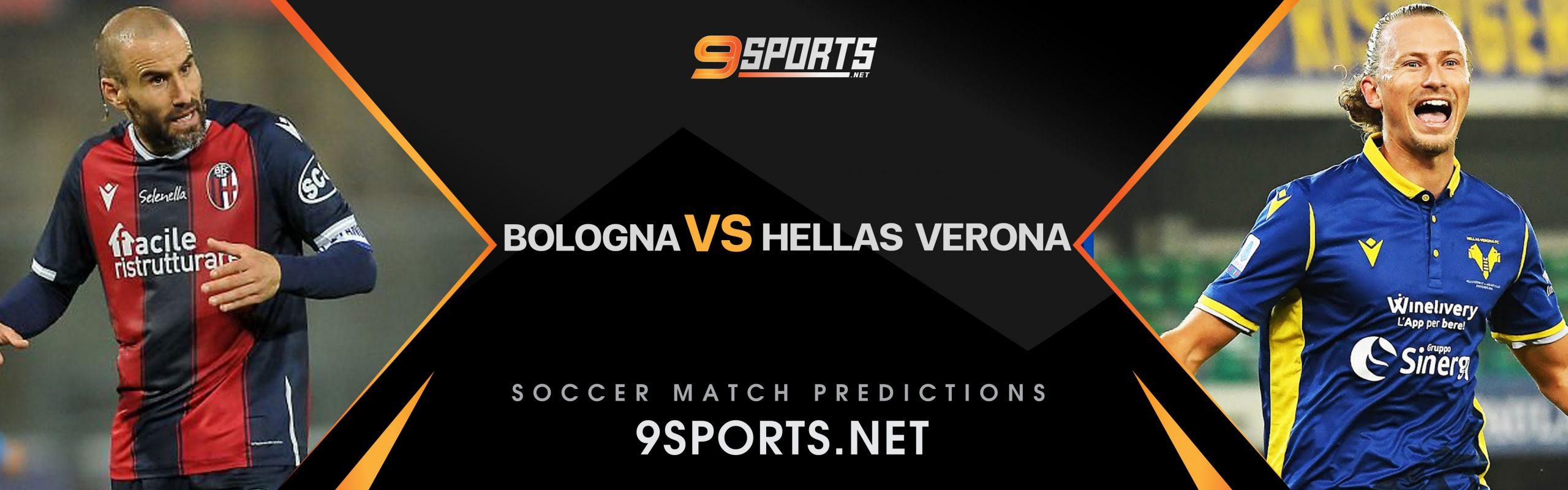 ทีเด็ดวิเคราะห์บอล 9Sports กัลโช่ เซเรียอา โบโลญญ่า VS เฮลลาส เวโรน่า