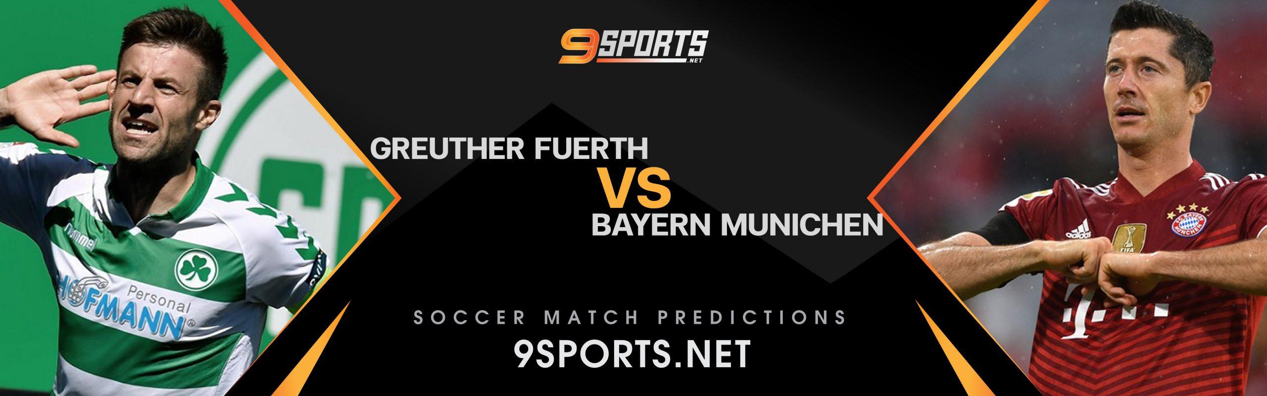 ทีเด็ดวิเคราะห์บอล 9Sports Germany BundesLiga กรอยเธอร์ เฟือร์ธ VS บาเยิร์น มิวนิค