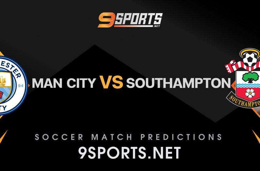 ทีเด็ดวิเคราะห์บอล 9Sports Premier League แมนเชสเตอร์ ซิตี้ VS เซาแธมป์ตัน