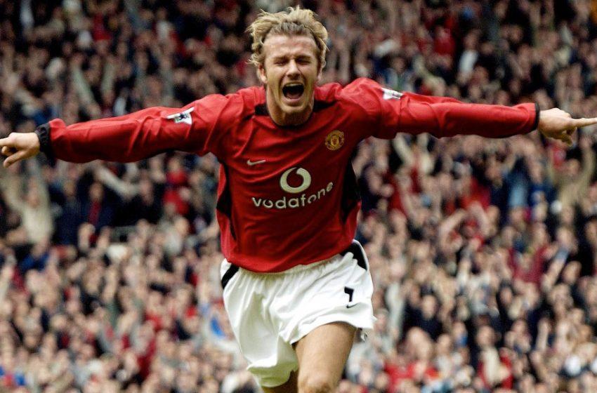 David Beckham ตำนานเทพบุตรเท้าช่างทอง