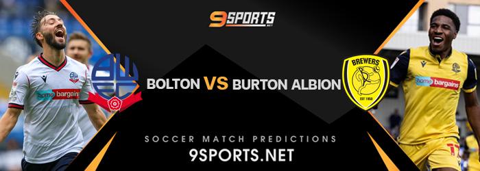 ทีเด็ดวิเคราะห์บอล 9Sports ลีกวัน โบลตัน VS เบอร์ตัน อัลเบี้ยน
