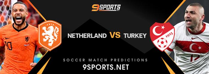 ทีเด็ดวิเคราะห์บอล 9Sports ฟุตบอลโลก รอบคัดเลือก 2022 เนเธอร์แลนด์ VS ตุรกี
