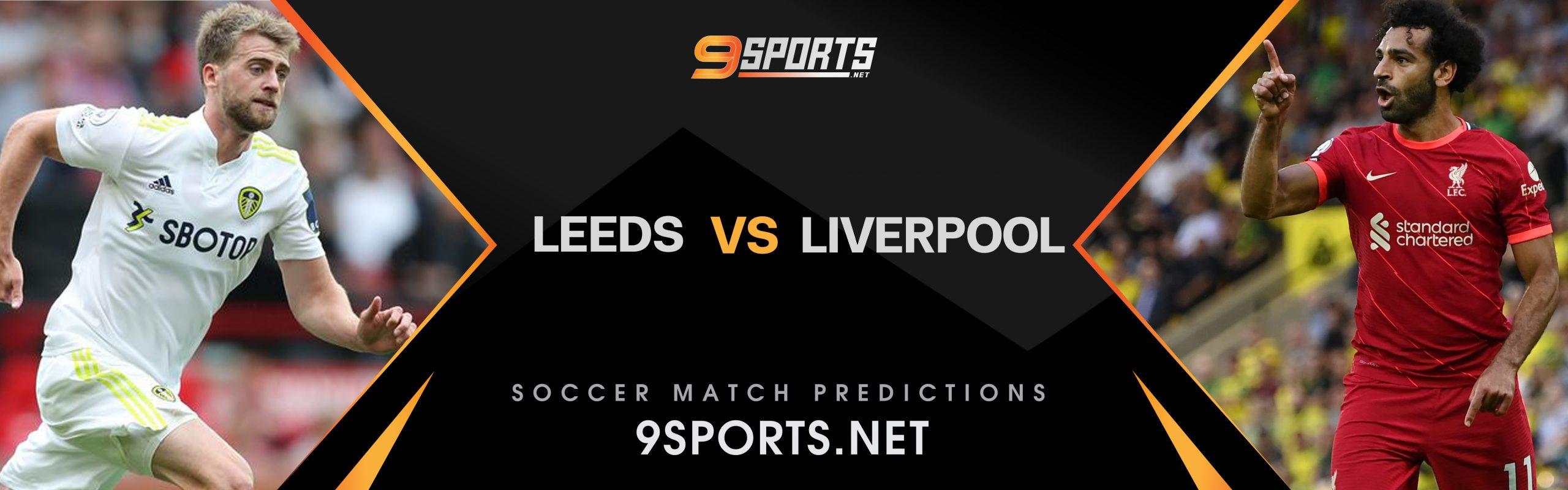 ทีเด็ดวิเคราะห์บอล 9Sports พรีเมียร์ลีค อังกฤษ ลีดส์ ยูไนเต็ด VS ลิเวอร์พูล