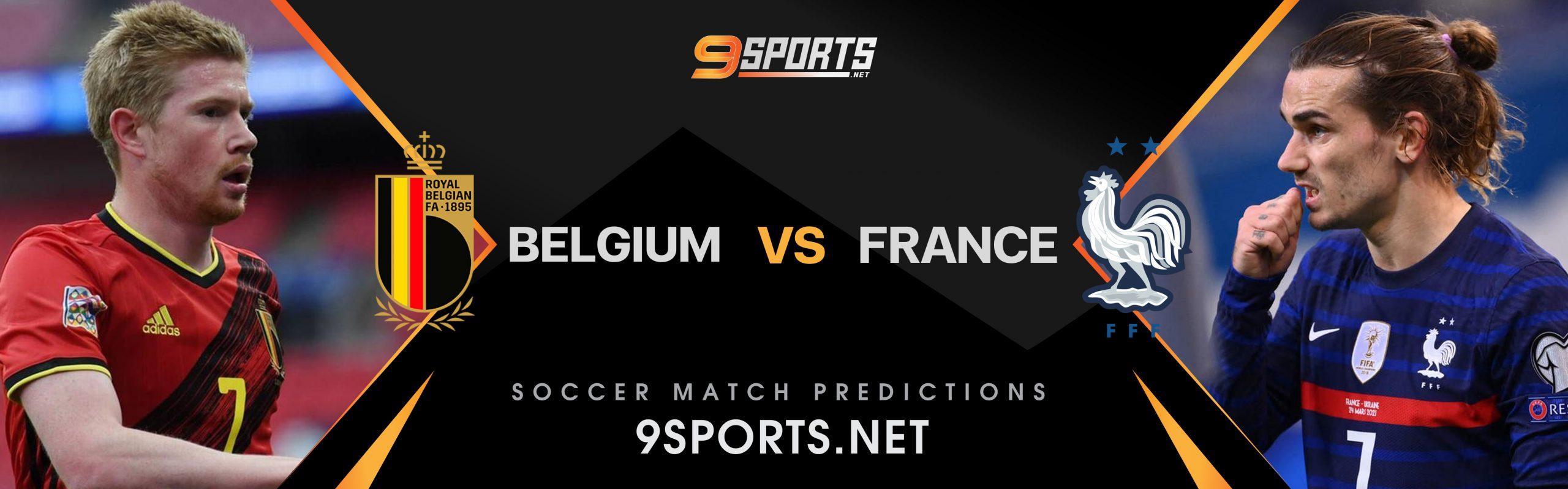 ทีเด็ดวิเคราะห์บอล 9Sports UEFA Nations League เบลเยี่ยม VS ฝรั่งเศส