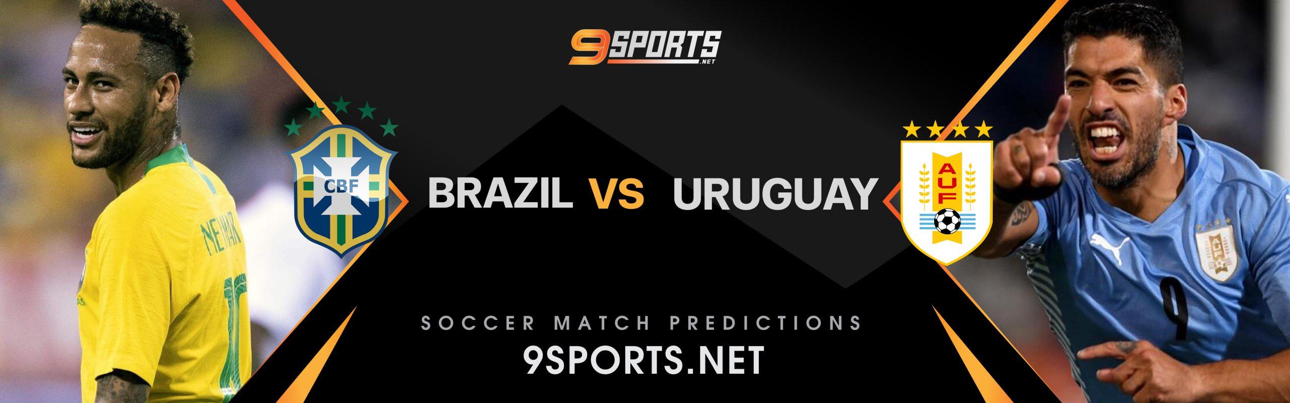ทีเด็ดวิเคราะห์บอล 9Sports World Cup South America Zone บราซิล VS อุรุกวัย