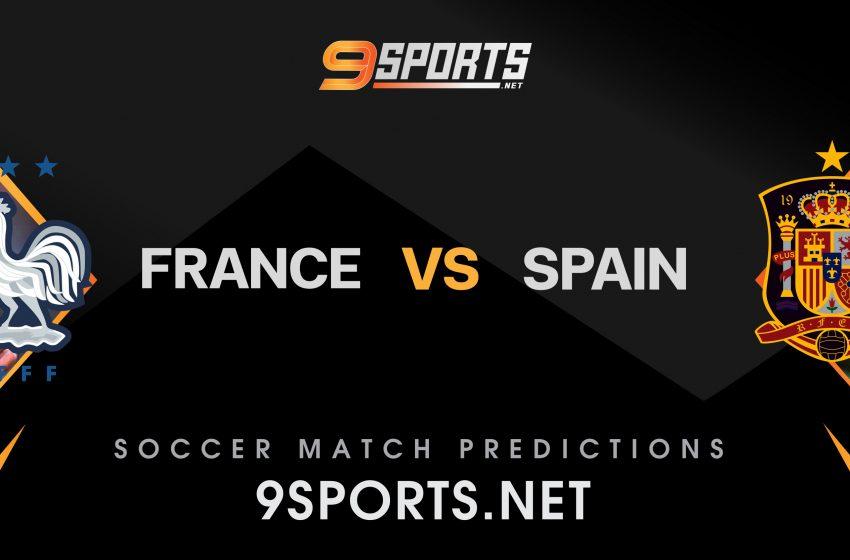 ทีเด็ดวิเคราะห์บอล 9Sports UEFA Nations League ฝรั่งเศส VS สเปน