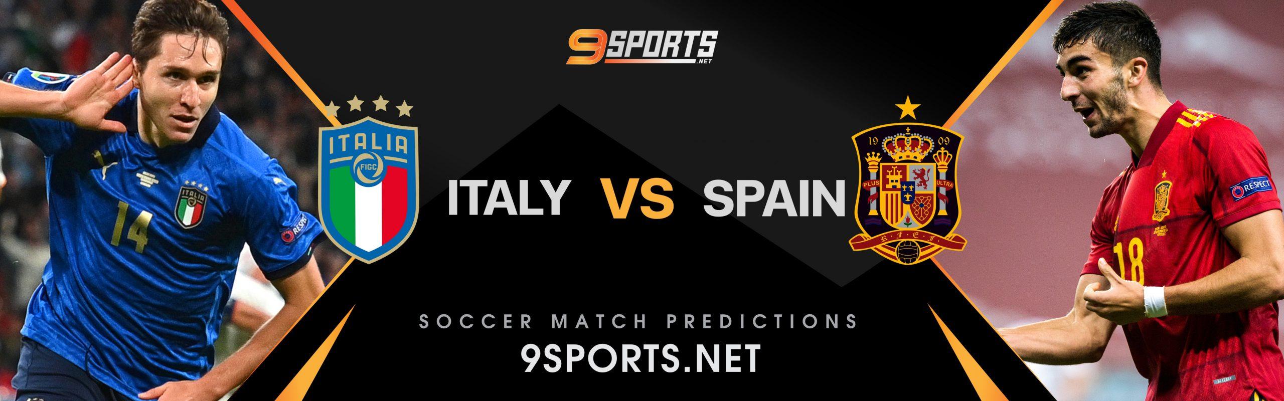 ทีเด็ดวิเคราะห์บอล 9Sports UEFA Nations League  อิตาลี VS สเปน