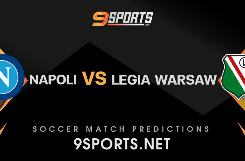 ทีเด็ดวิเคราะห์บอล 9Sports UEFA Europa League 2021-2022  นาโปลี VS ลีเกีย วอร์ซอว์