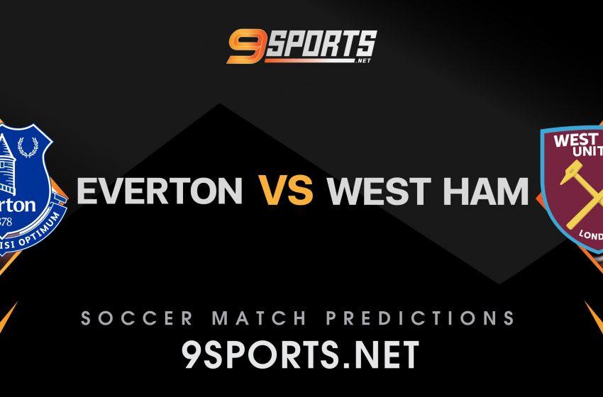 ทีเด็ดวิเคราะห์บอล 9Sports Premier League  เอฟเวอร์ตัน VS เวสต์แฮม ยูไนเต็ด