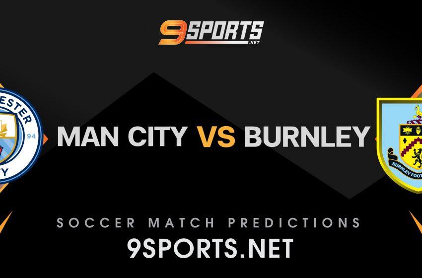 ทีเด็ดวิเคราะห์บอล 9Sports Premier League  แมนฯ ซิตี้ VS เบิร์นลี่ย์