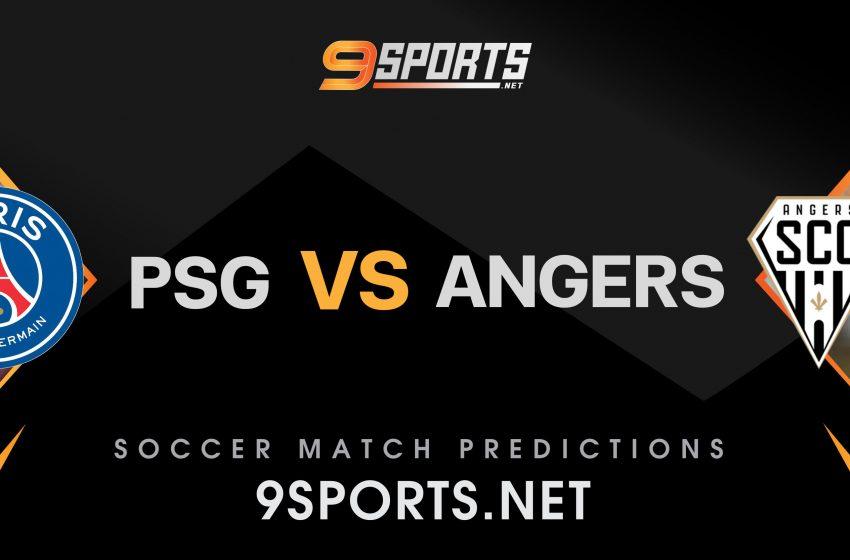 ทีเด็ดวิเคราะห์บอล 9Sports France League1 ปารีส แซงต์ แชร์กแมง VS อองเช่ร์