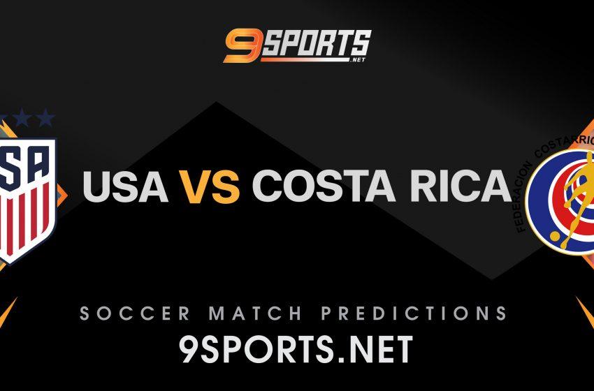 ทีเด็ดวิเคราะห์บอล 9Sports World Cup Concacaf Zone  สหรัฐอเมริกา VS คอสตาริก้า
